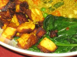 turmeric tofu