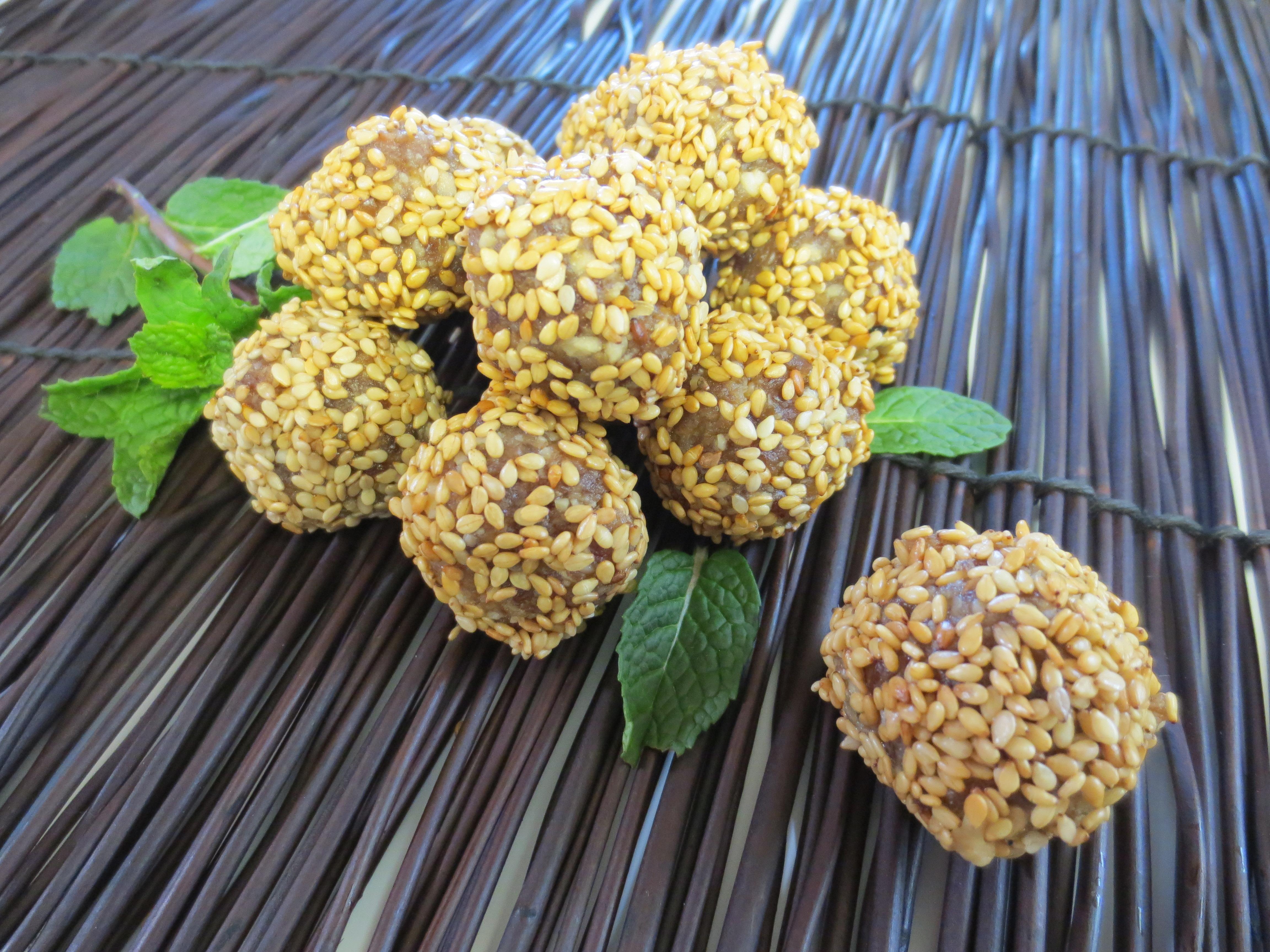 Tahini Peanut Confectioms