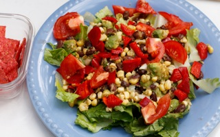 Lime-Infused Black Bean and Corn Salad