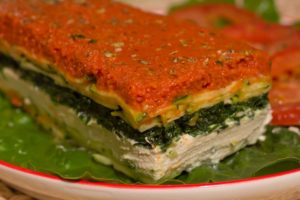 Raw lasagna from Chicago Raw