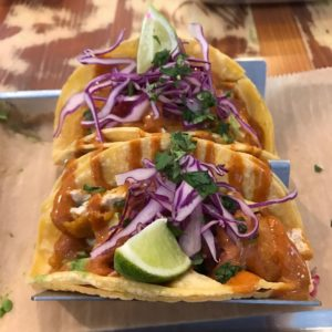 Fish-less tacos from Curia on the Drag