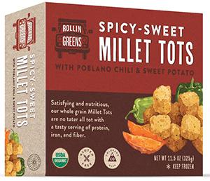 Vegan Product Reviews from Vegetarian Journal—Millet Tots and Pop Zest Nutritional Yeast Seasoning