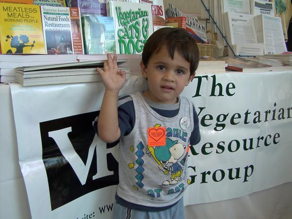 Uma em cada 200 crianças americanas é vegetariana