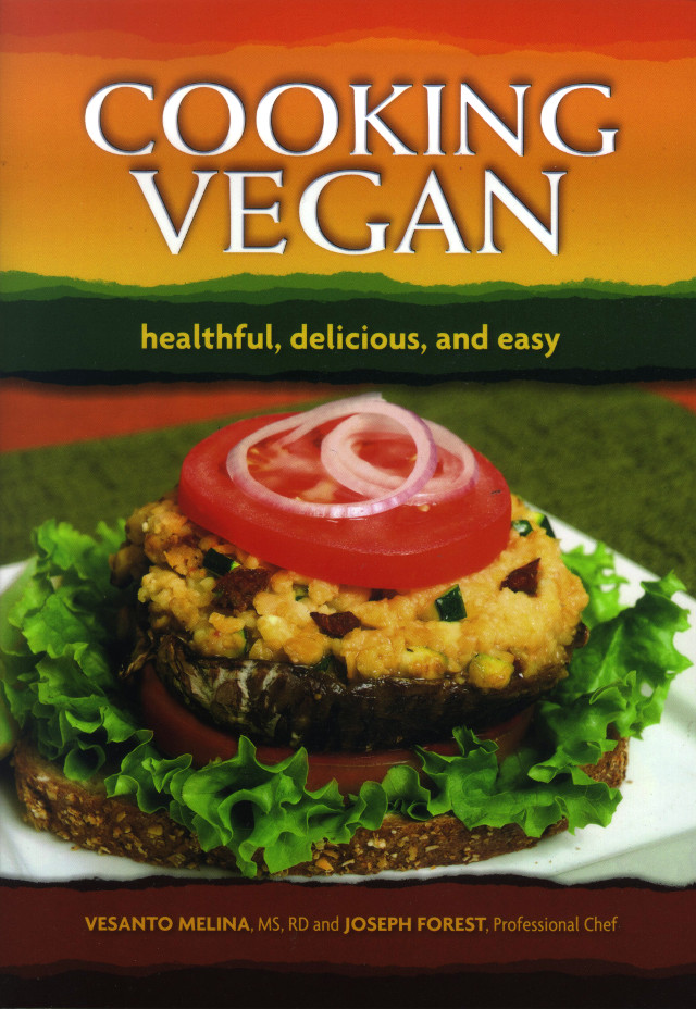 Cooking Vegan book cover