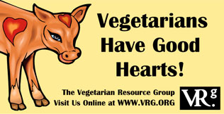 Vegetarians Have Good Hearts!