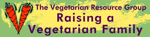 RAISING A VEGETARIAN FAMILY