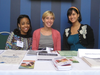 VRG Interns at SHIP booth